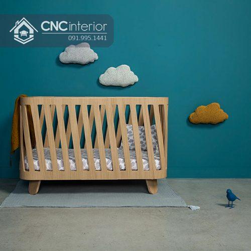 Cũi trẻ em cnc 06