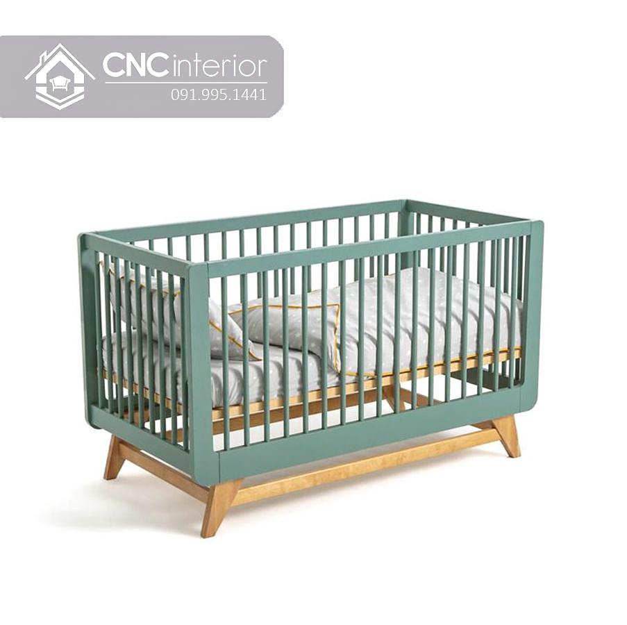 Cũi trẻ em điều chỉnh độ cao CNC 07 1