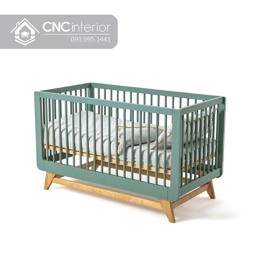 Cũi trẻ em điều chỉnh độ cao CNC 07