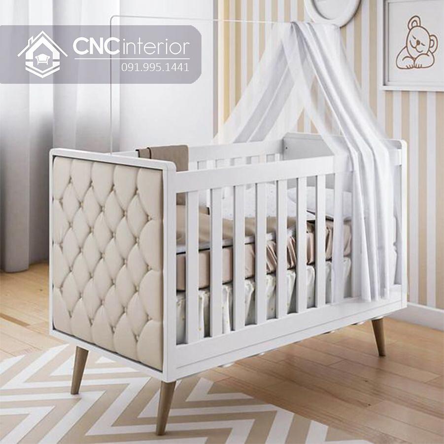 Cũi trẻ em đẹp sang trọng CNC 10