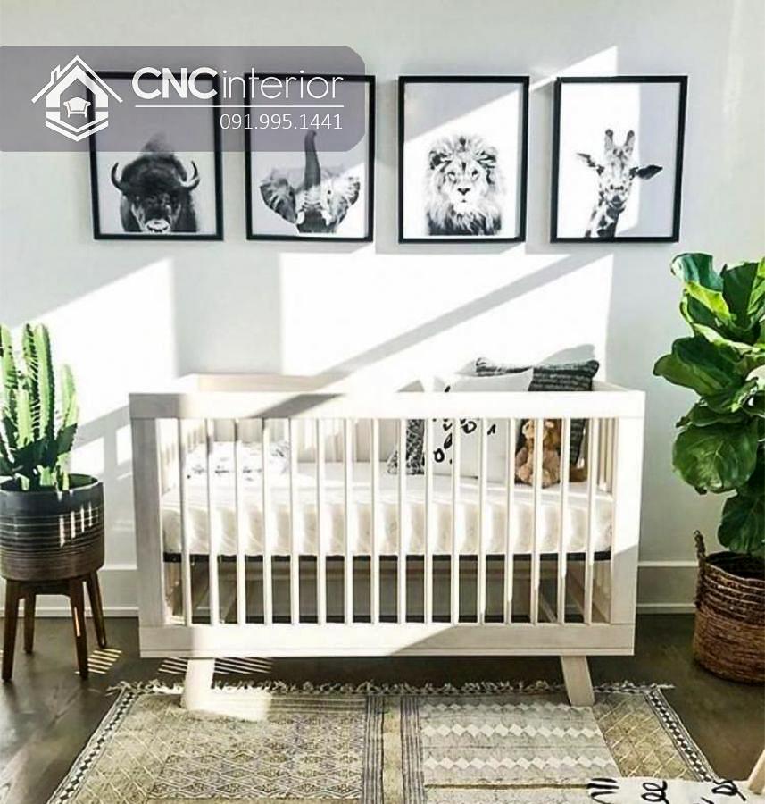 Cũi trẻ em đơn giản CNC 11 2