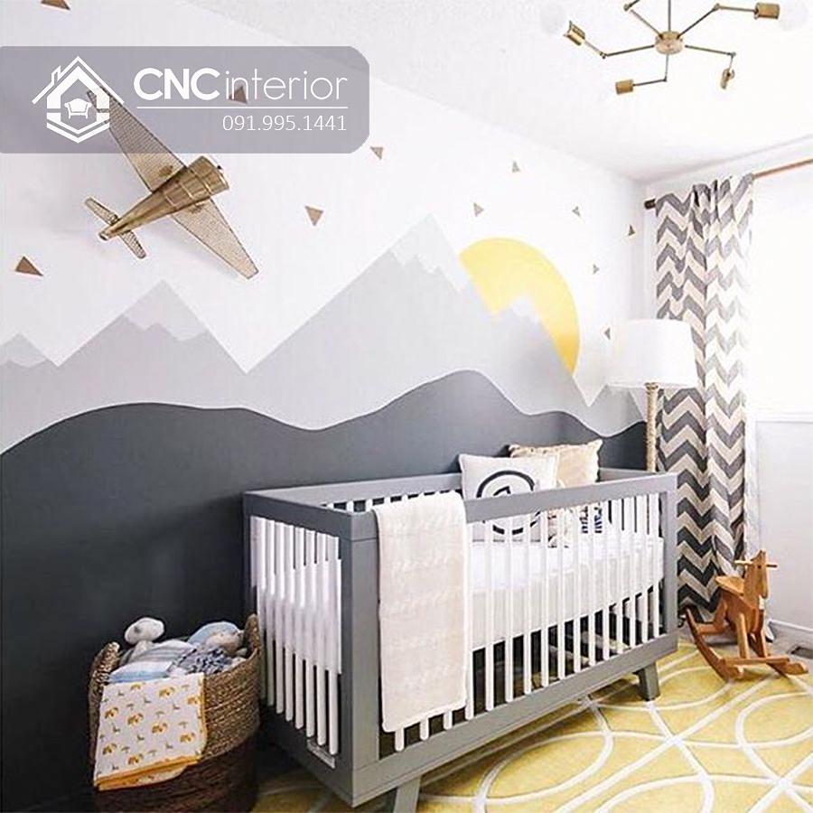 Cũi trẻ em đơn giản CNC 11 1