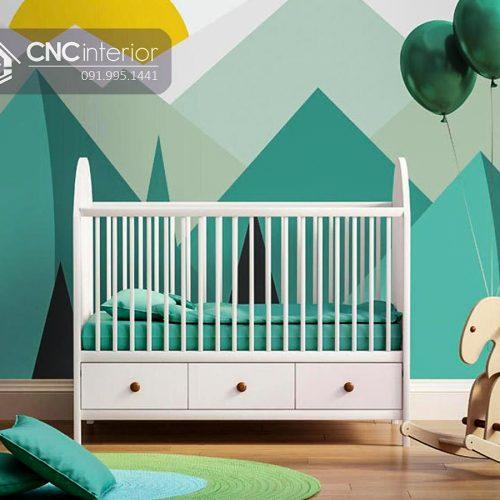 Cũi trẻ em cnc 15