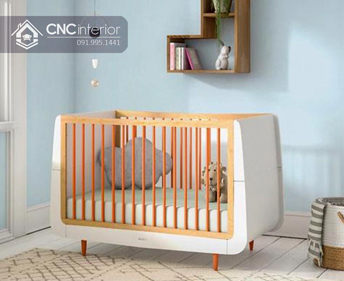 Cũi trẻ em nhỏ gọn tinh tế CNC 17