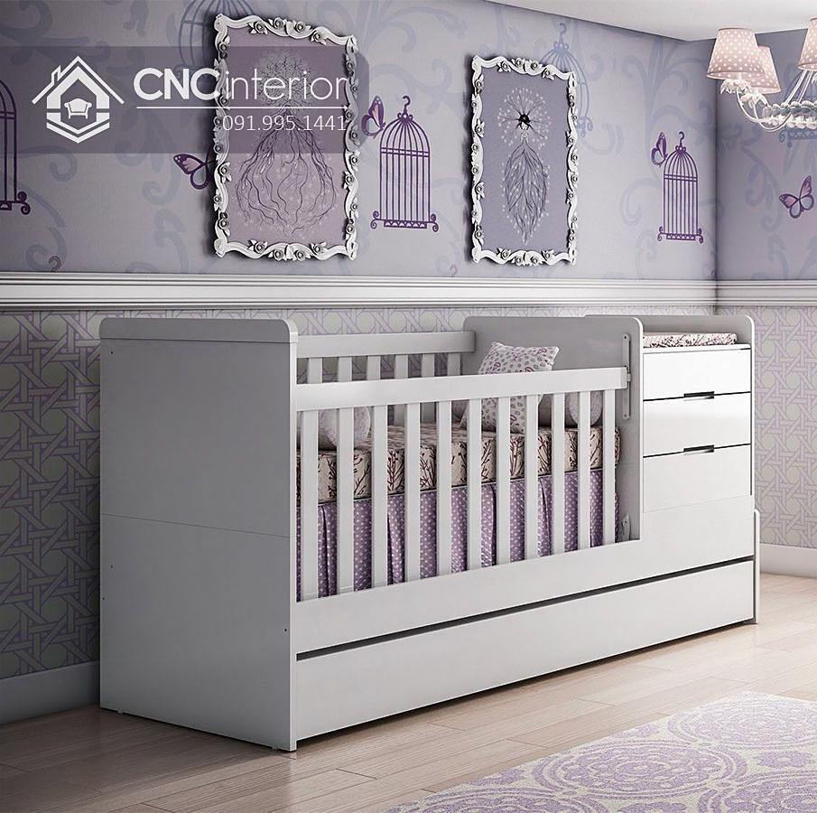 Cũi trẻ em đa năng hiện đại CNC 32