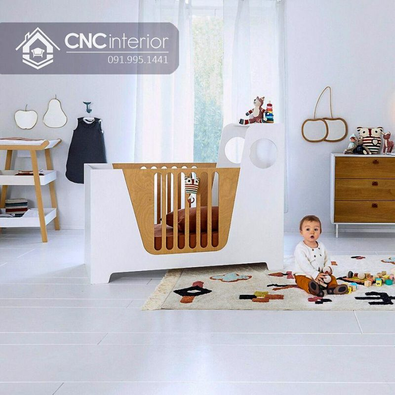 Cũi trẻ em cnc 33