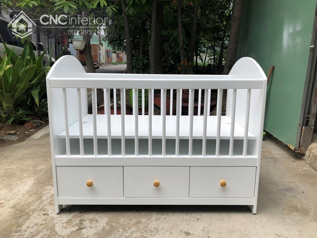 Cũi trẻ em đa năng và đẹp CNC 15 3