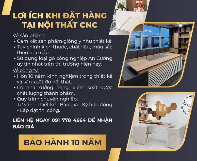 Loi ich khi dat hang tai Noi that CNC