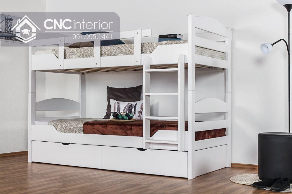 Mẫu giường tầng cho người lớn CNC 08