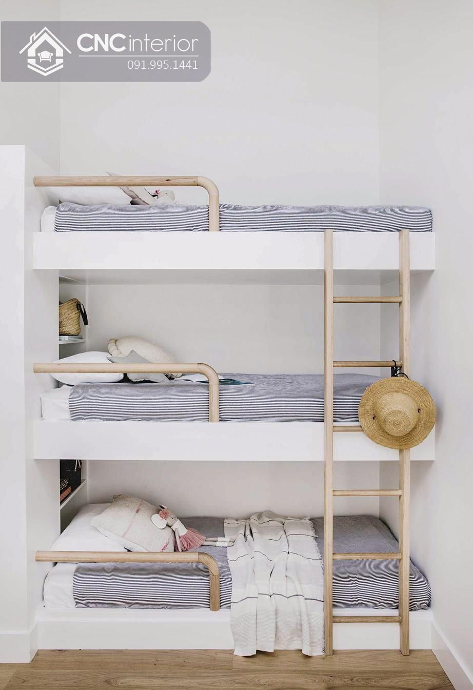 Mẫu giường tầng cho người lớn CNC 12