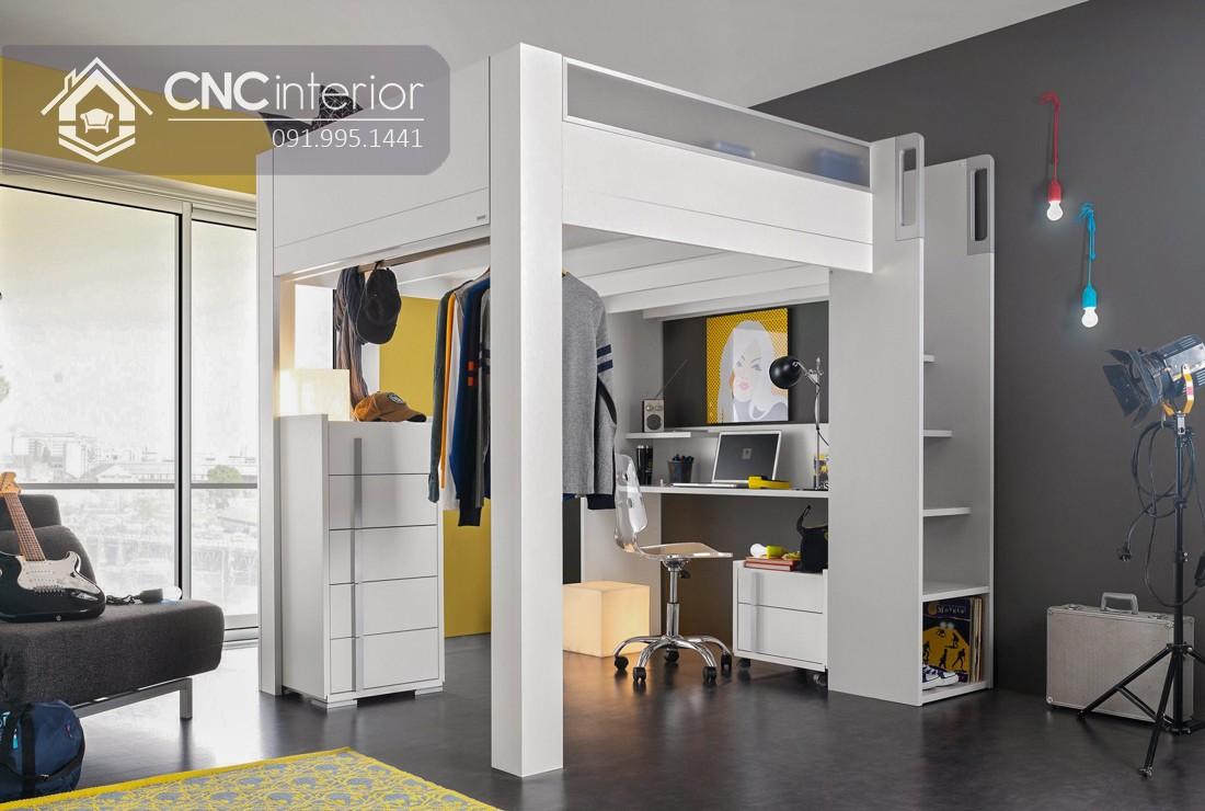 Giường 2 tầng gỗCNC 13 2