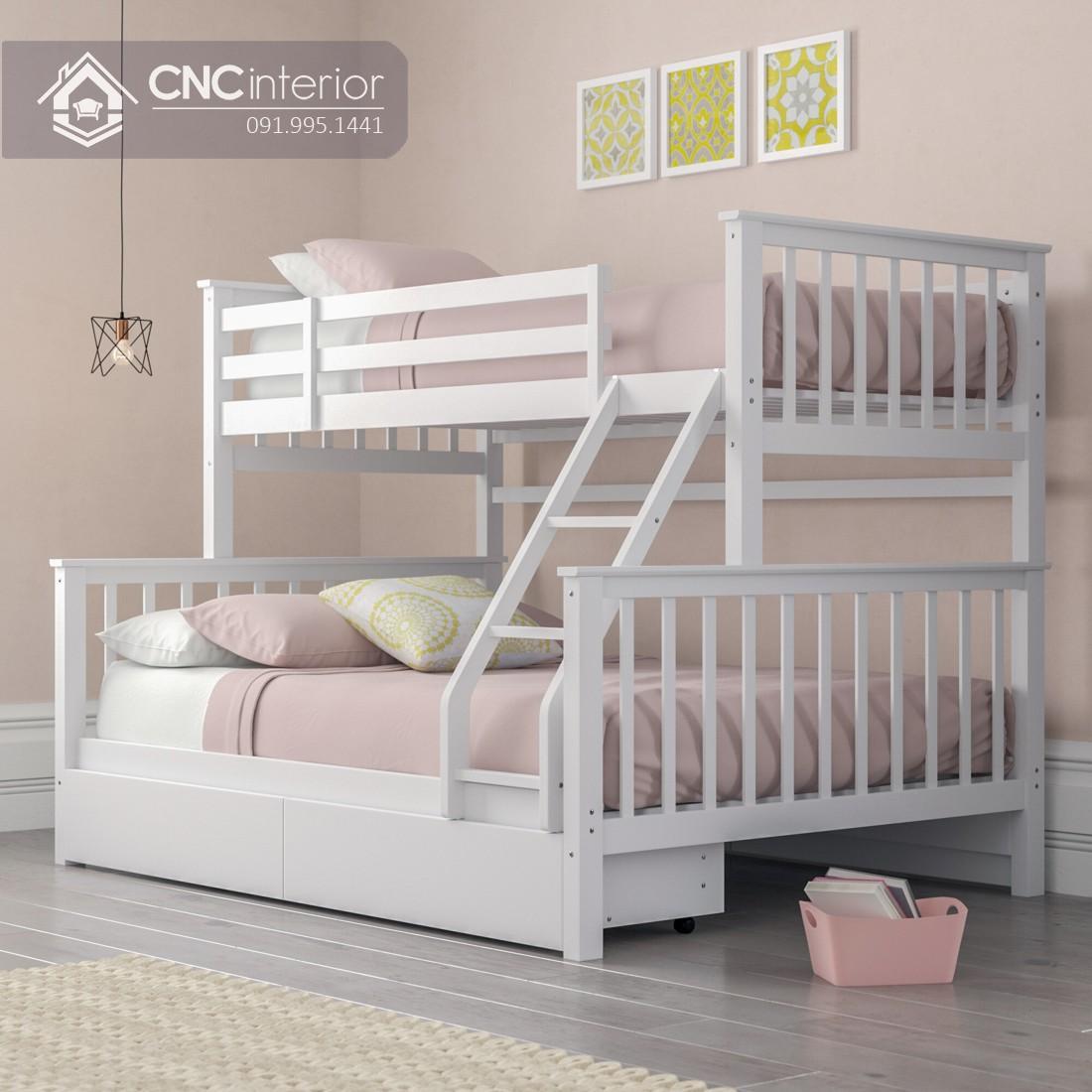 Mẫu giường tầng cho người lớn CNC 14
