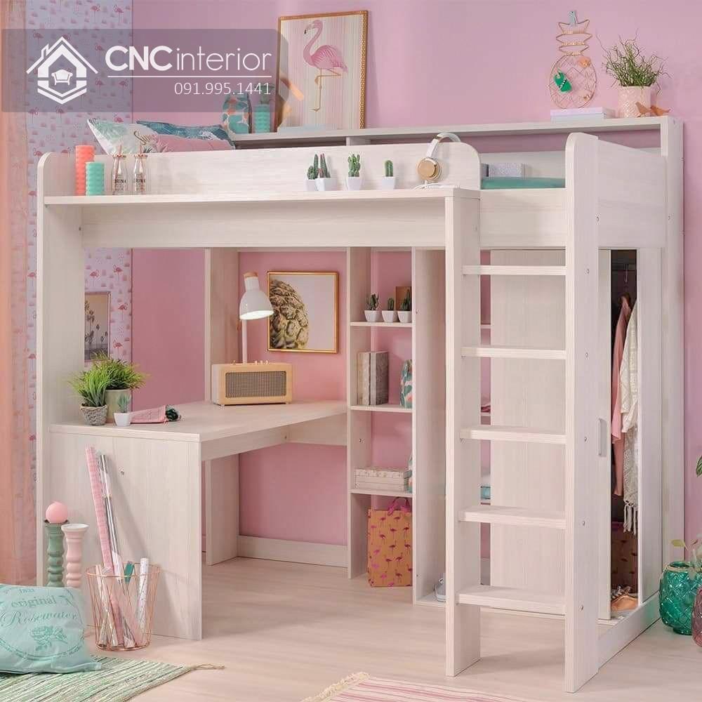 Mẫu giường tầng cho người lớn CNC 02
