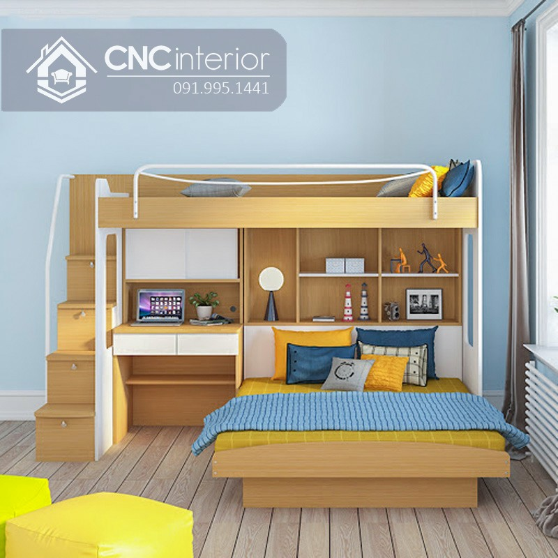 Giường ngủ kết hợp bàn học (9)