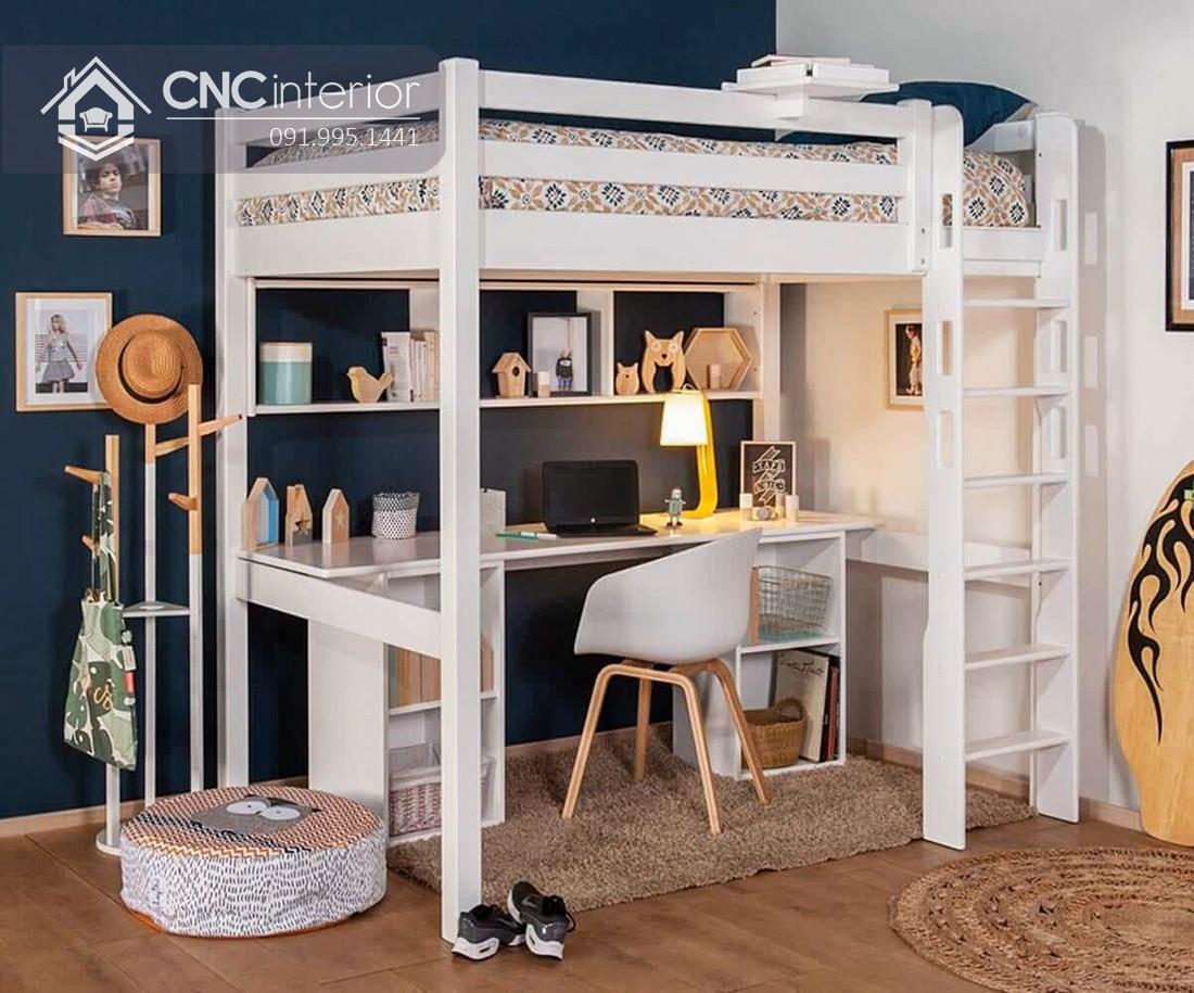 Giường ngủ kết hợp bàn học (3)