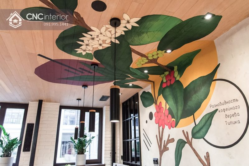 Nội thất CNC Cafe Roaster 6