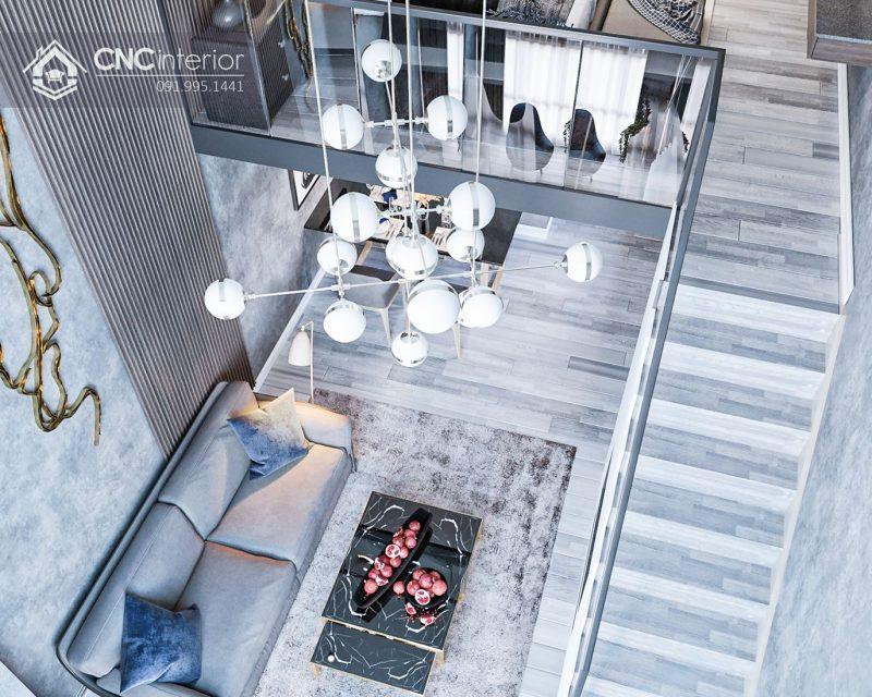 thiết kế nội thất nhà cấp 4 cho phòng khách 2
