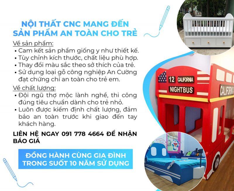 Noi that CNC mang den san pham an toan cho tre 1