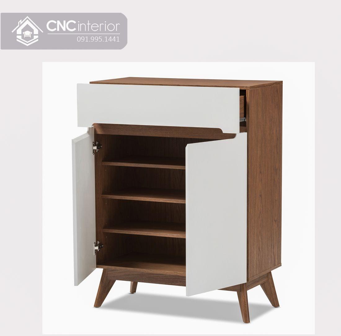 Tủ giày gỗ cao 1m2 đảm bảo tiện nghi CNC 05 1