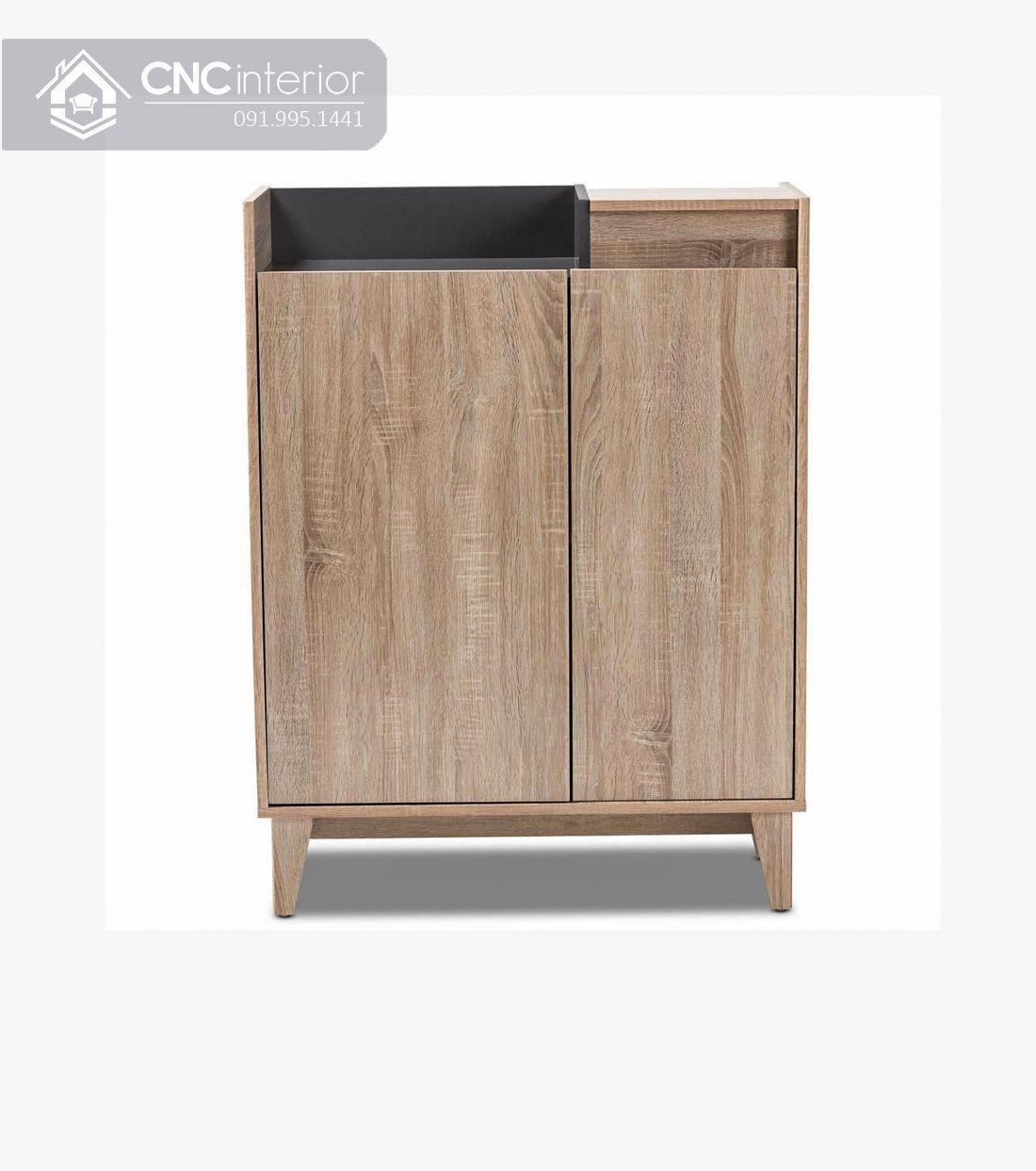 Tủ giày gỗ công nghiệp MFC hiện đại CNC 01 1