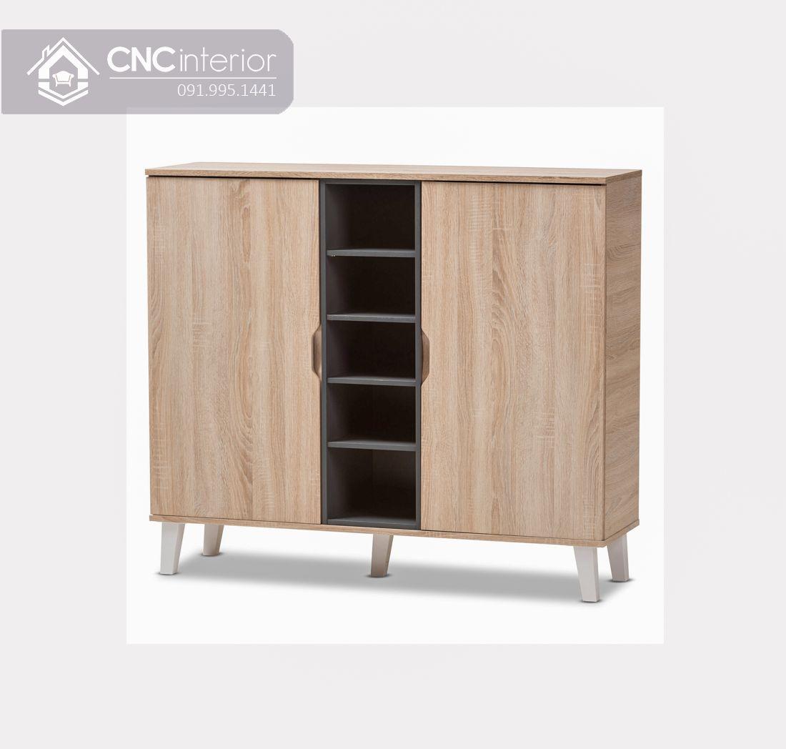 Tủ kệ giày CNC 07