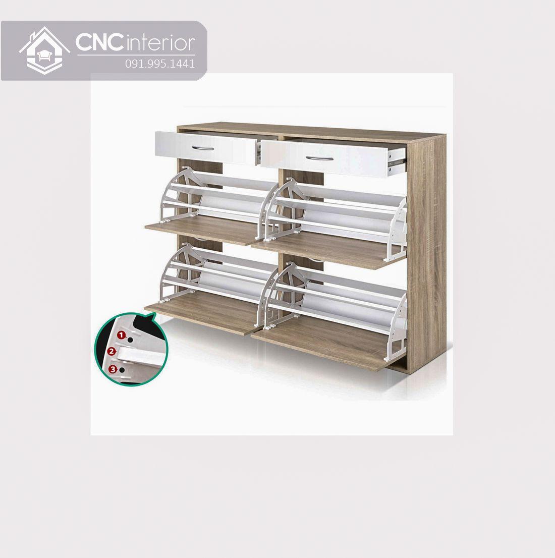 Tủ kệ giày CNC 13