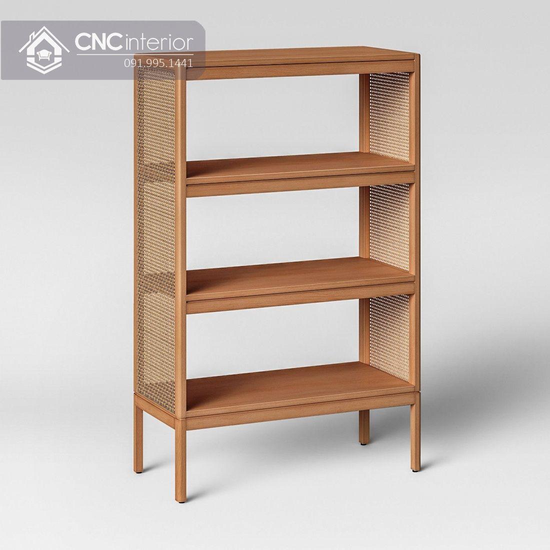 Kệ giày bằng gỗ đẹp đơn giản CNC 18