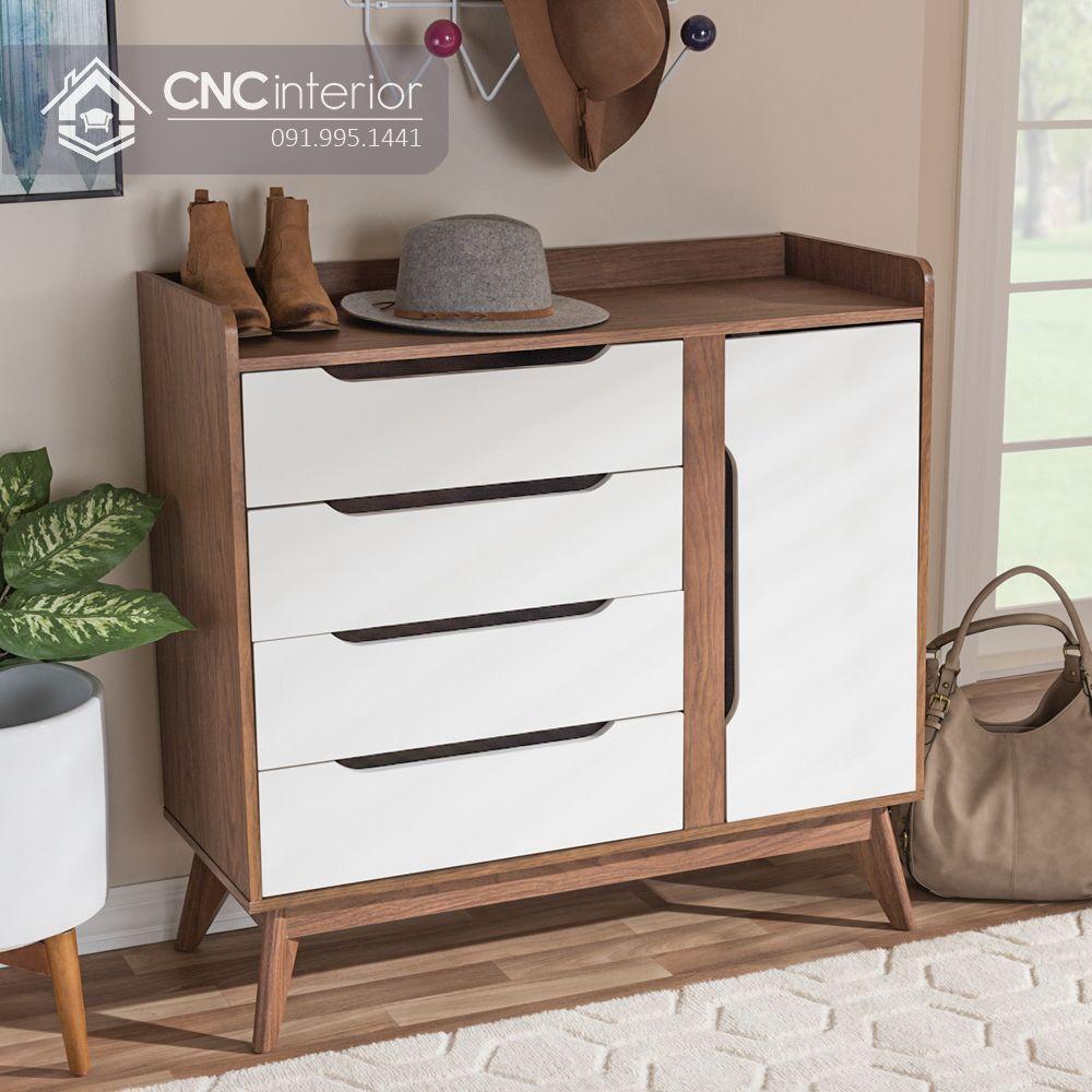 Tủ giày gỗ đẹp hiện đại tiện nghi CNC 03 2