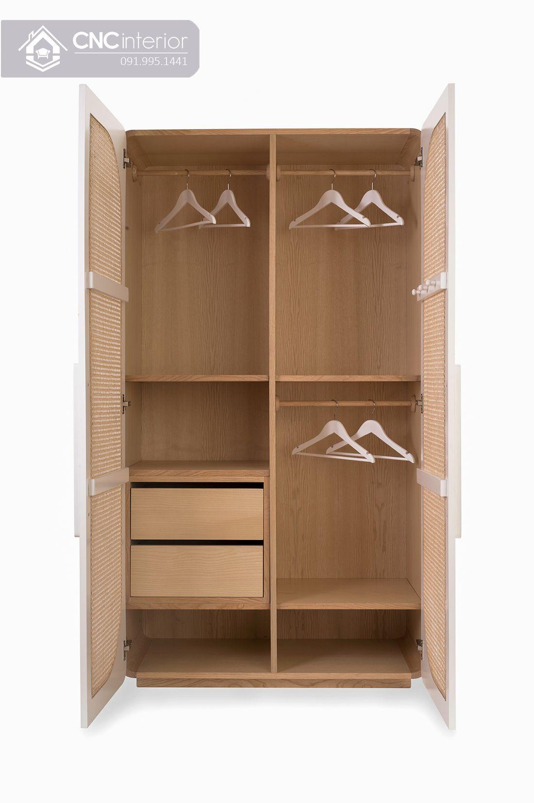 Tủ quần áo CNC 07-2