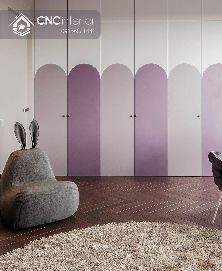 Tủ đựng quần áo gỗ công nghiệp đẹp CNC 23 1