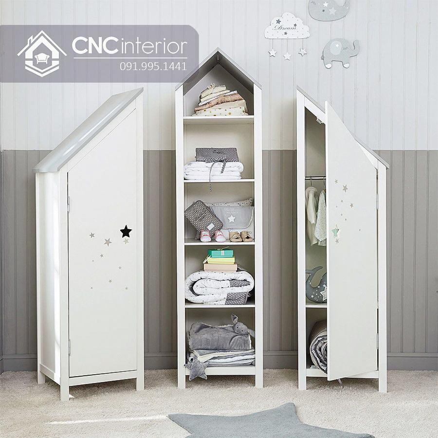 Tủ đồ em bé hình ngôi nhà độc đáo CNC 54 1