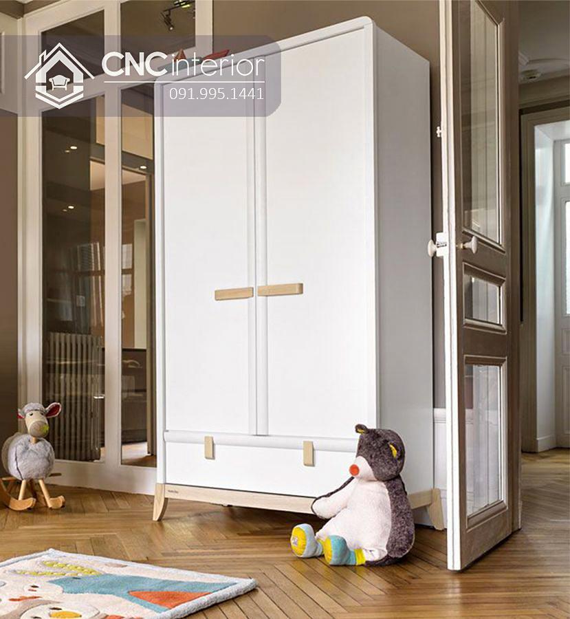 Tủ quần áo trẻ em bằng gỗ CNC 72 1