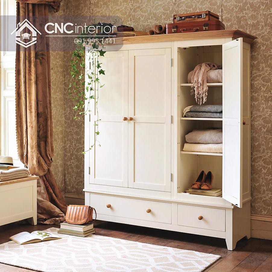 Tủ quần áo trẻ em bằng gỗ CNC 73