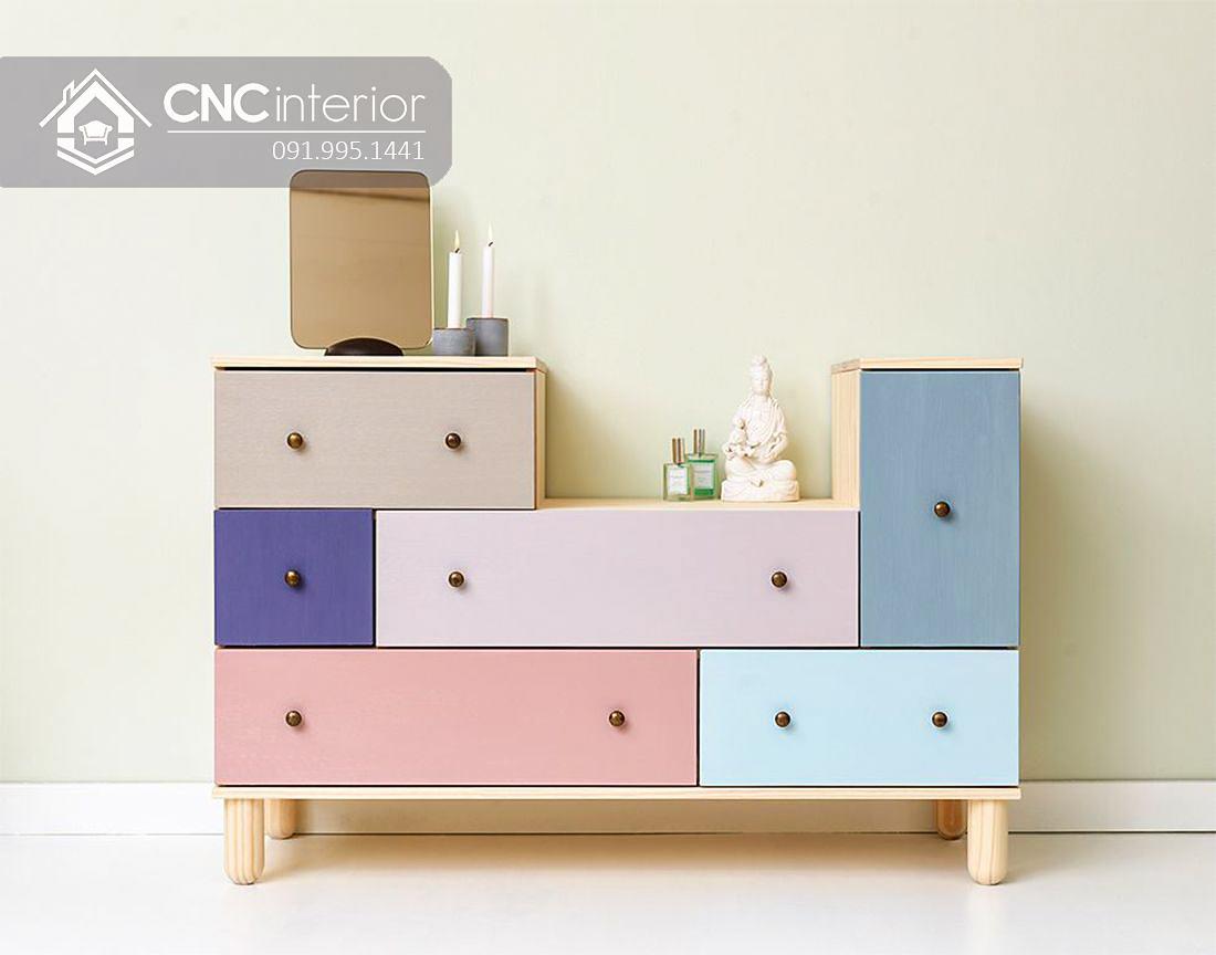 Tủ đồ ngăn kéo cho em bé CNC 08 2