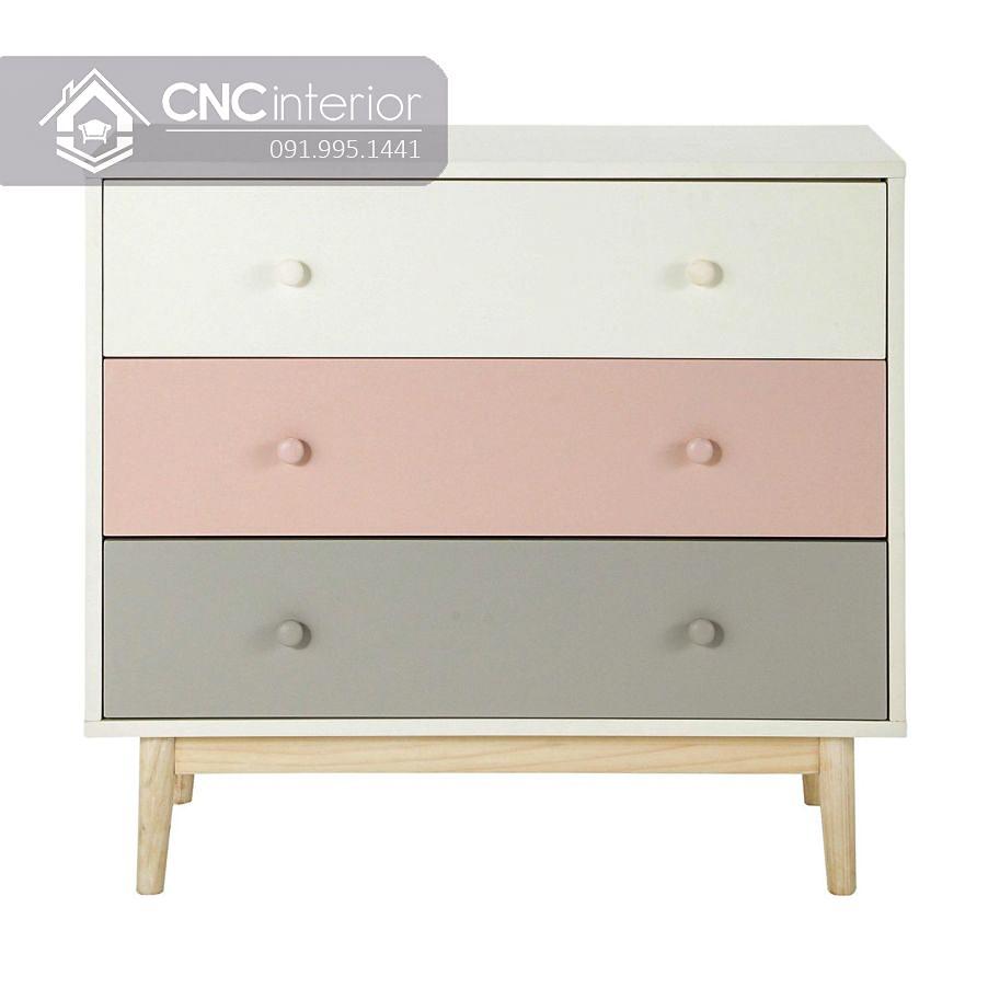 Tủ quần áo nhỏ gọn cho bé CNC 01 3