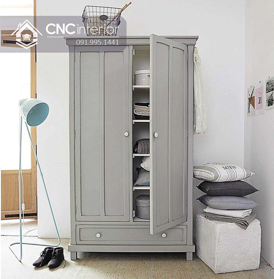 Tủ quần áo cho bé trai phong cách tân cổ điển CNC 37