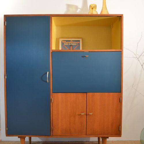 Tủ quần áo trẻ em bằng gỗ CNC 14