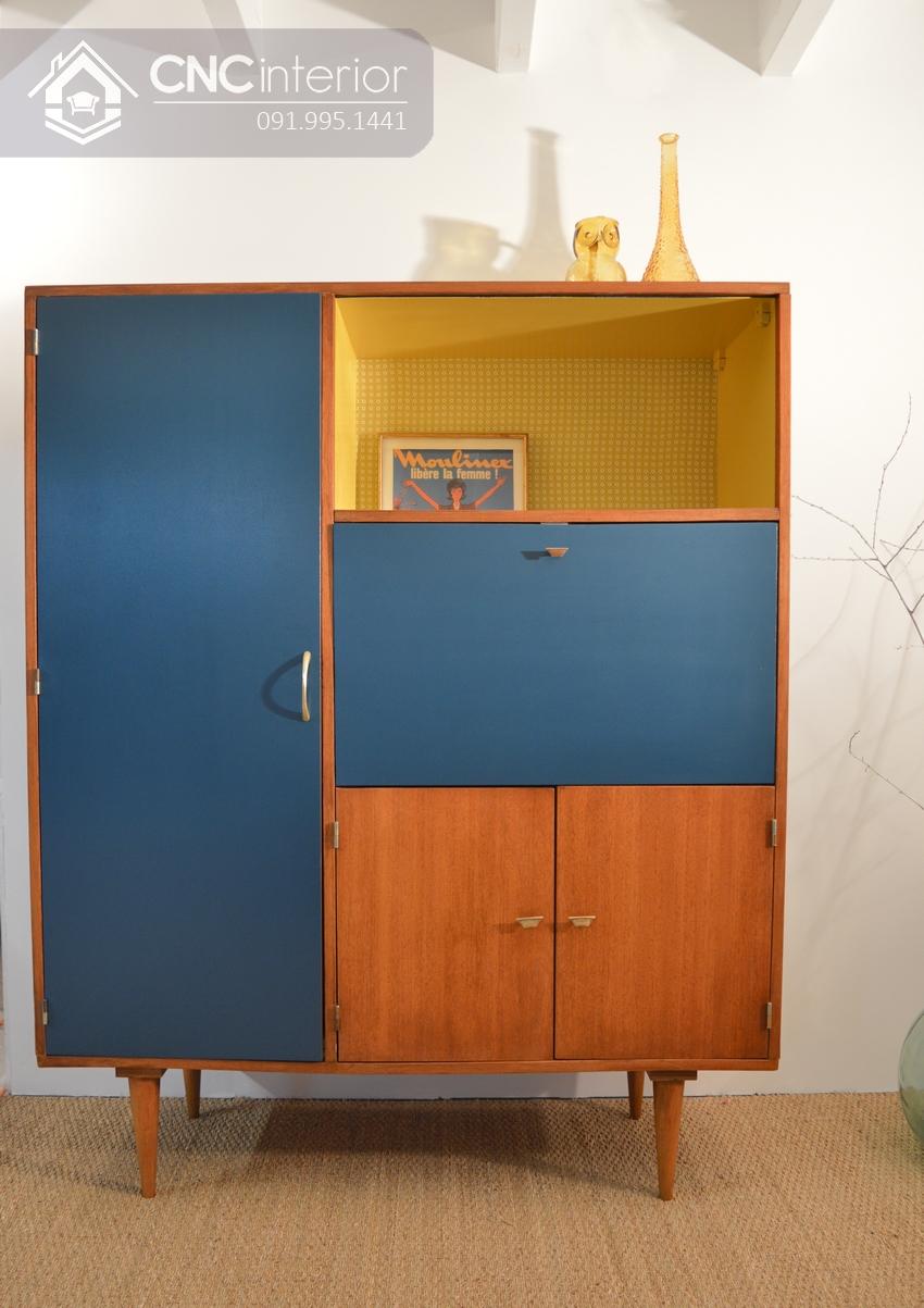 Tủ gỗ đựng quần áo cho trẻ em đa năng CNC 14
