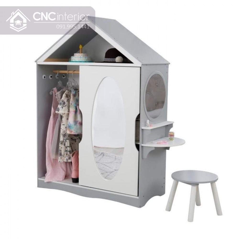 Tủ đựng quần áo độc đáo cho bé gái CNC 20 1