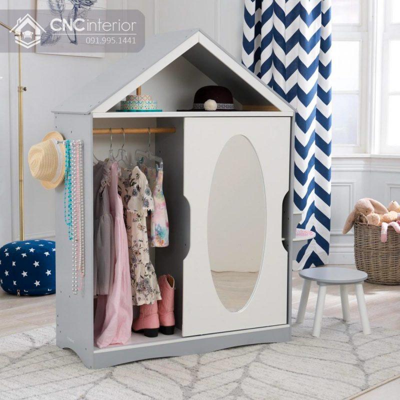 Tủ quần áo trẻ em bằng gỗ CNC 20