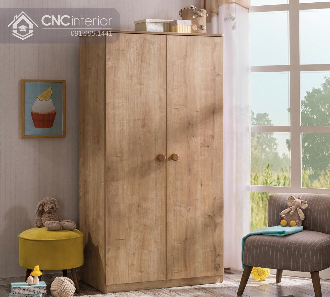 Tủ đồ em bé bằng gỗ công nghiệp CNC 22