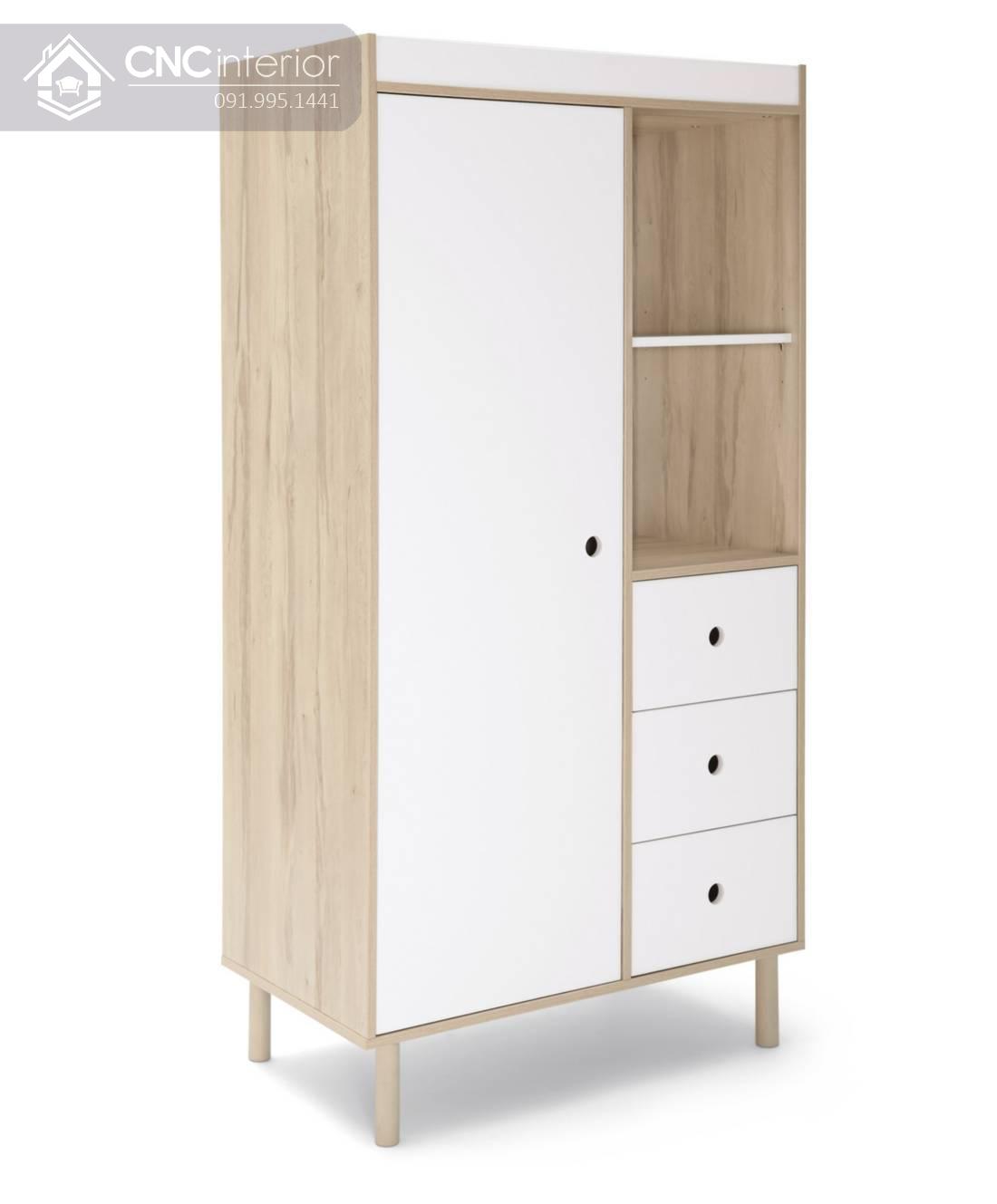 tủ quần áo trẻ em bằng gỗ đẹp hiện đại CNC 46 1