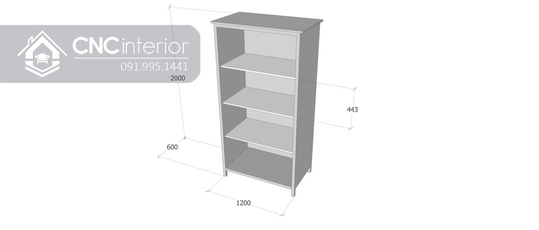 Tủ quần áo CNC 09-3