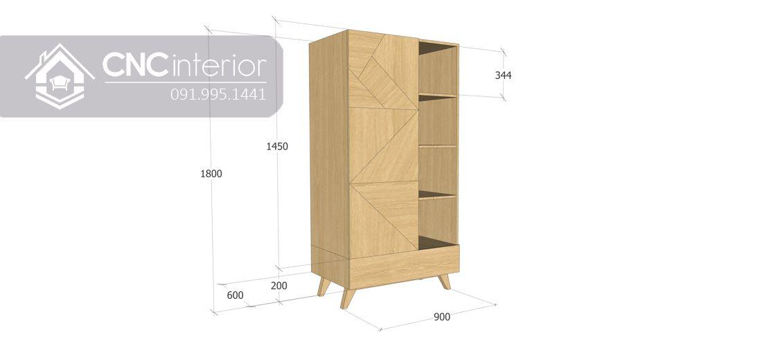 Tủ quần áo CNC 12-5