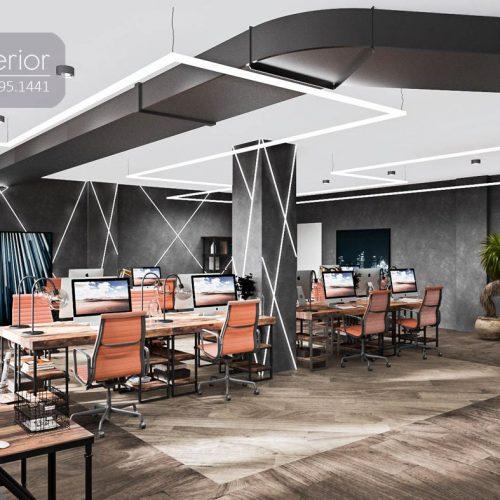 Nội thất CNC - Văn phòng công ty LNE