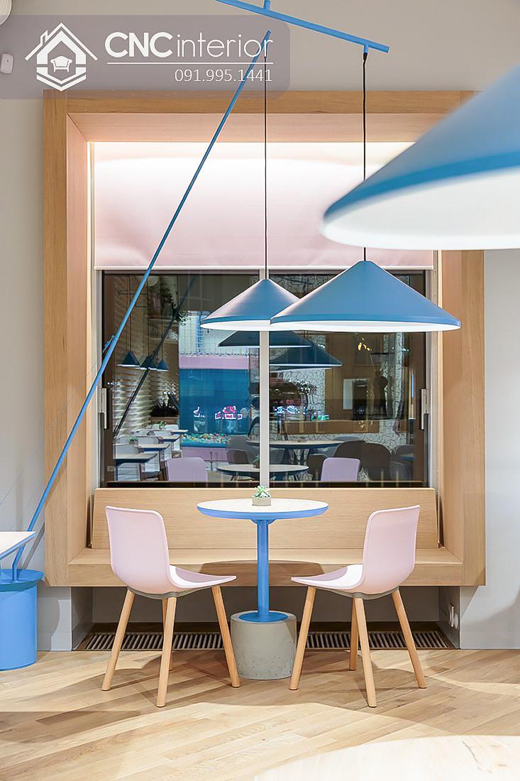 Bàn ghế cafe CNC 10