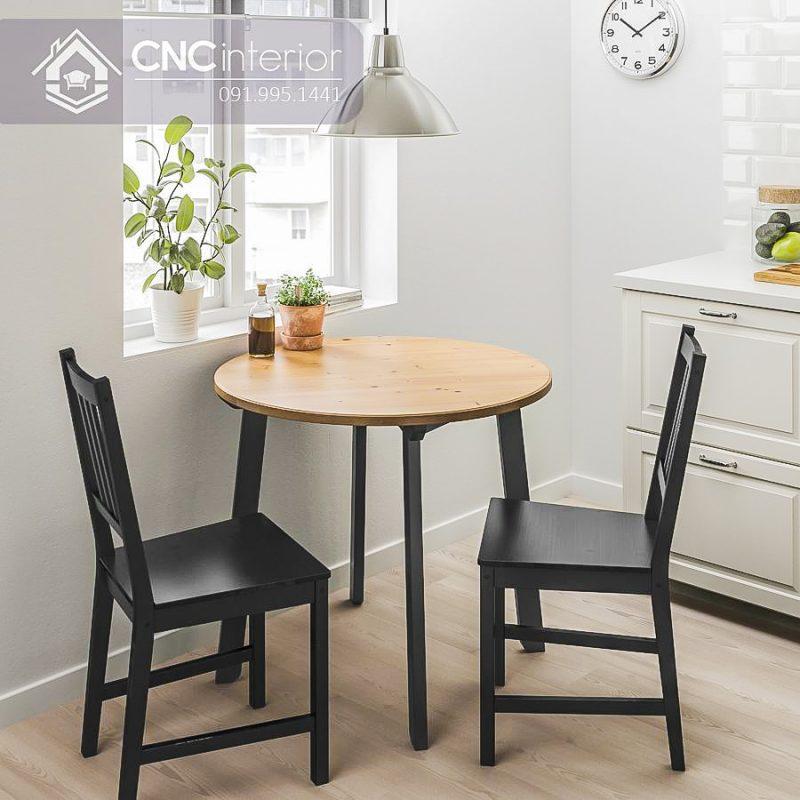Bàn ghế cafe CNC 13