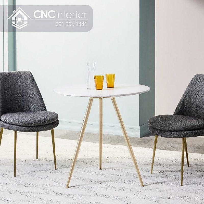 Bàn ghế cafe CNC 15