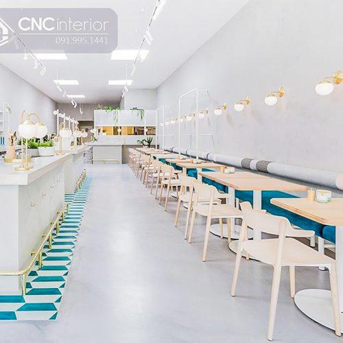 Bàn ghế cafe CNC 16