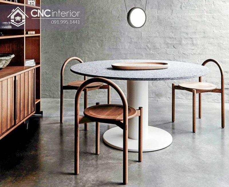 Bàn ghế cafe CNC 19